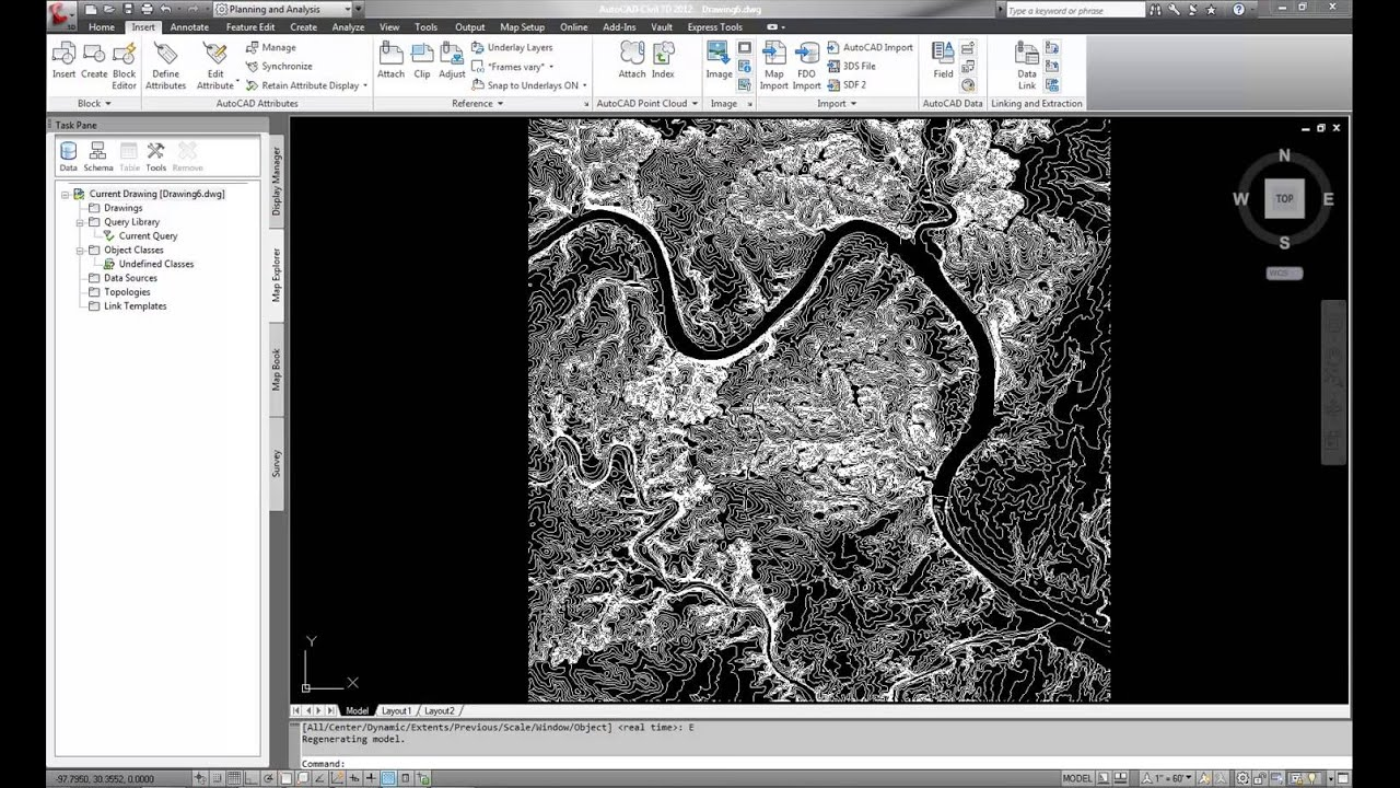 Importing Gis Data Into Autocad Civil 3d Youtube
