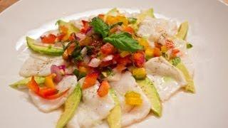 See Recipe - Halibut Ceviche