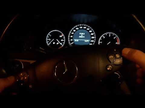 Mercedes W204 Geheimmenü