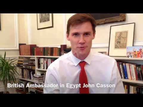 Ambassador John Casson Welcomes returning Chevening scholars 2015-2016