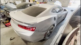 THE HAIL DAMAGE CAMARO SS FROM COPART COST HOW MUCH TO GET FIXED?! SMH