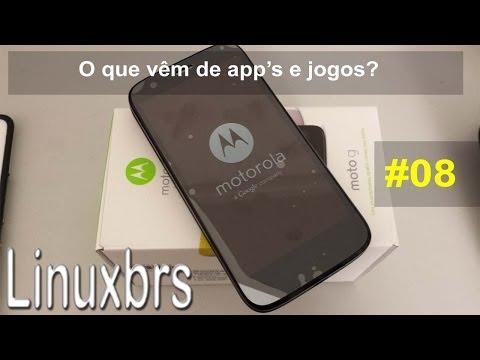 Moto G Motorola XT1033 - O que vêm de APP's e Jogos? - PT-BR - Brasil