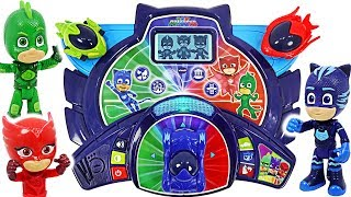 PJ Masks and Ralph! Let's play game with Time to Be A Hero Learning Tablet! #DuDuPopTOY