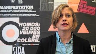 Océane Rose Marie soutient Act Up-Paris