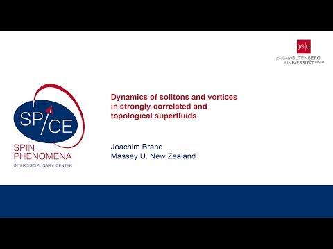 Talks - Non-equilibrium Quantum Matter - Joachim Brand