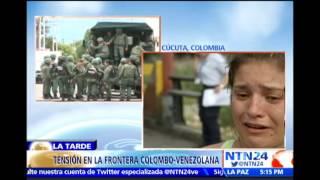 NTN24 en la frontera: colombiana narra dramático desalojo vivido durante deportación