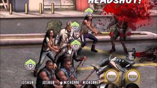 Walking Dead : Road to Survival - No Guns No Noise 2 - Stages 4 - 5