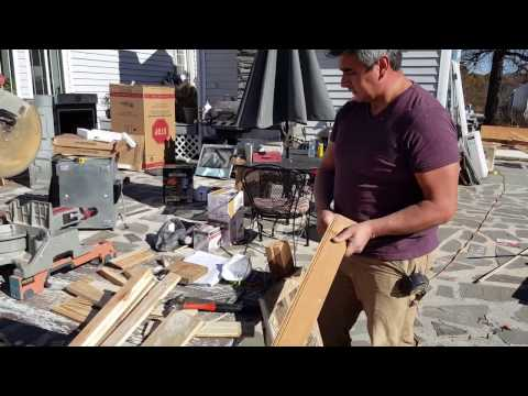 How to make a rustic medicine cabinet