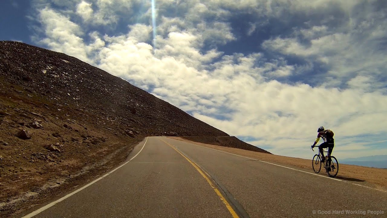 Complete Drive Up Pikes Peak Highway  Colorado