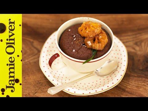 Christmas Chocolate Puddings | Gennaro Contaldo