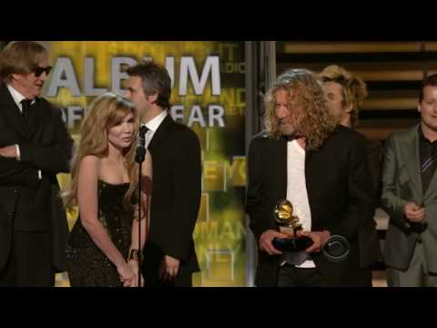 2009 GRAMMY Awards - Plant/Krause Win Album of the Year
