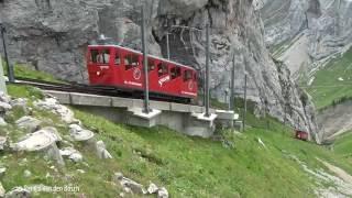 Pilatus - Steilste Zahnradbahn der Welt 2 augustus 2016 thumbnail
