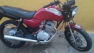 Titan 99 vermelha motor de strada 200cc (LEGALIZADA)