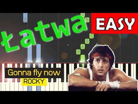 🎹 Gonna fly now (Rocky, Bill Conti) - Piano Tutorial (łatwa wersja) (EASY) 🎹