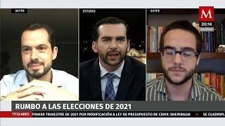 ¿Hemos entrado en camino a las elecciones 2021?, Paul Ospital y Abraham Mendiena