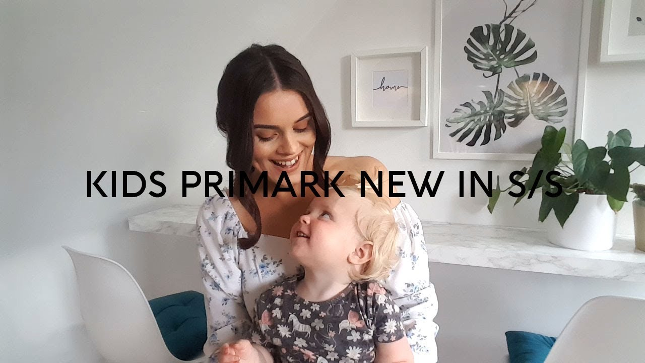 NEW IN KIDS S/S PRIMARK HAUL