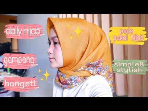 Assalamu'alaaikum temen2 dividio kali ini aku bikin tutorial cadar dari hijab segi empat. Pastinya simple dan good look dong....