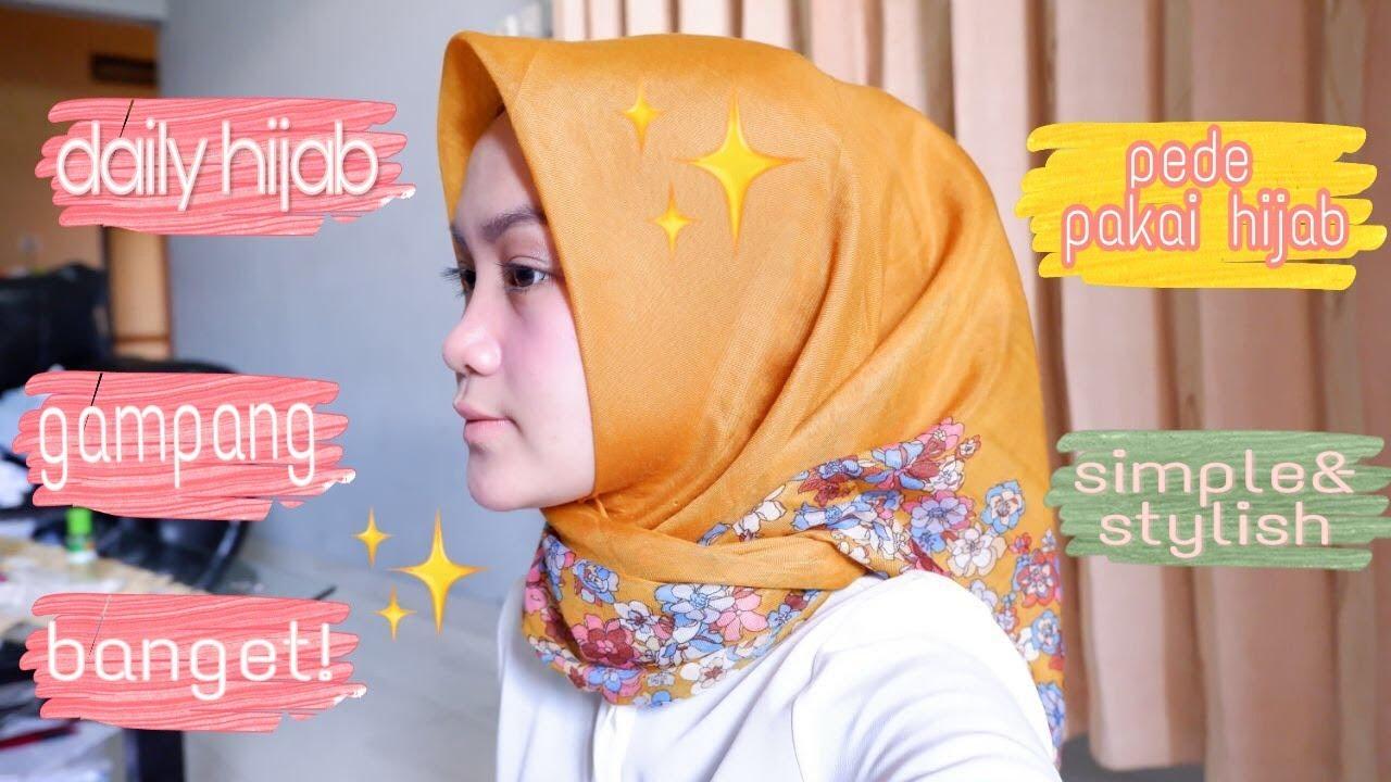 Tutorial Hijab Segi Empat Simpel Dan Kekinian Buat Sehari Hari Ala Selebgram 8 Style In 1 Scarft Youtube
