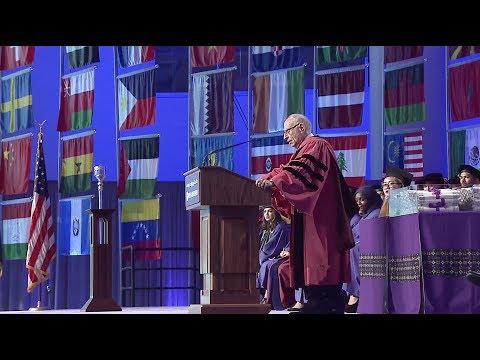 2017 Commencement Vice Chancellor's Address