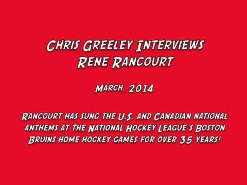 Chris Greeley Interviews Rene Rancourt