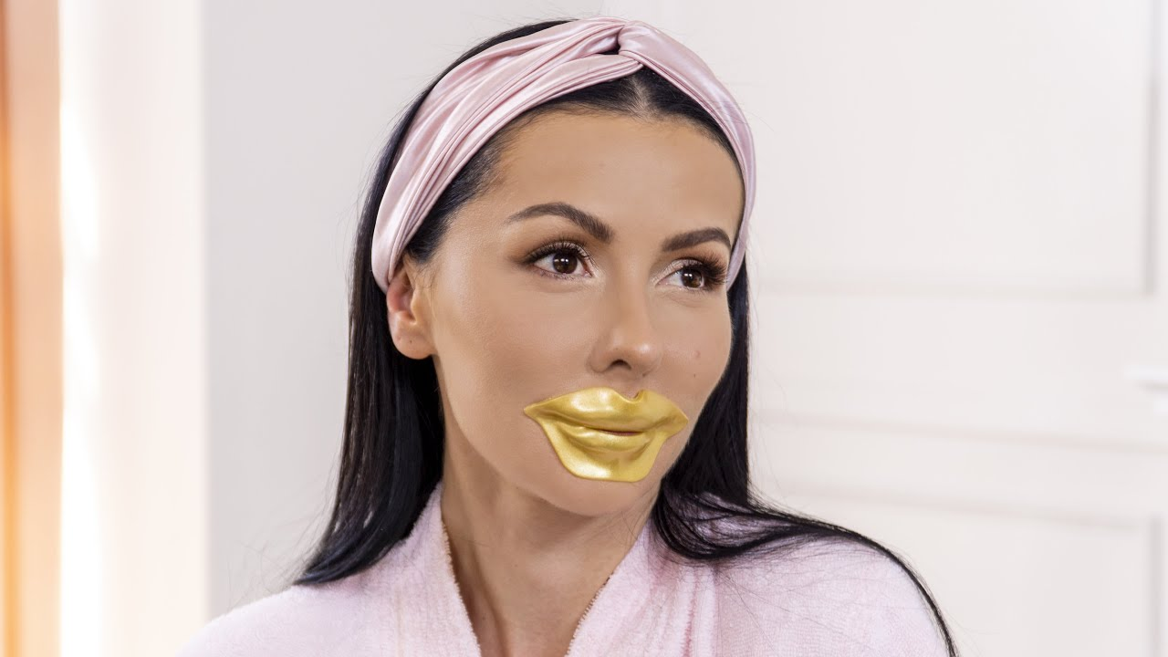 Gold Collagen Lip Mask Knesko Skin