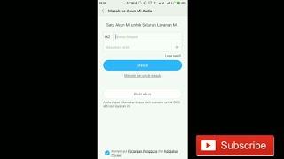 Download Video Cara membuat akun mi pada hp xiaomi MP3 3GP MP4