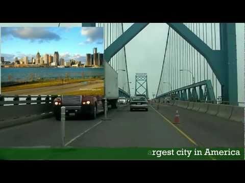Roti Run 401 expressway Detroit to Toronto