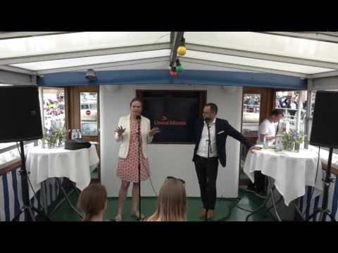 Folkemødet 2017 - Den frie skole - Vært Merete Riisager (LA)