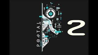 Portal [let's play] en español  [parte 2] saltando entre portales 07-10