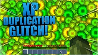 Minecraft Pocket Edition - XP DUPLICATION GLITCH - 30 Levels In 60 Seconds!