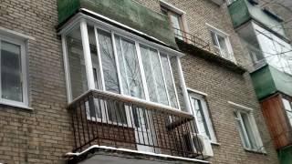видео остекление балконов в хрущевке
