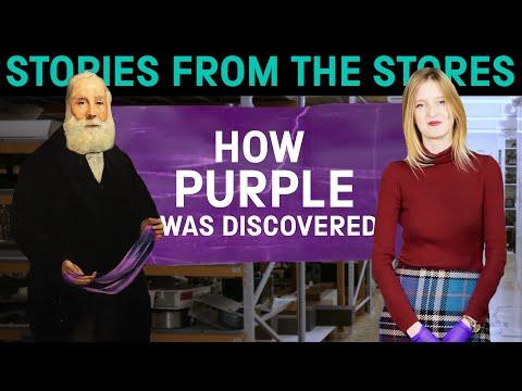 The Secret Origins Of Purple Dye