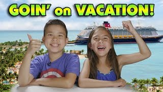 We're Going on VACATION - DISNEY CRUISE!!! DAILY VIDEOS this Week!!!