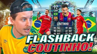 THE FINESSE KING?! 92 FLASHBACK COUTINHO PLAYER REVIEW! FIFA 21 Ultimate Team