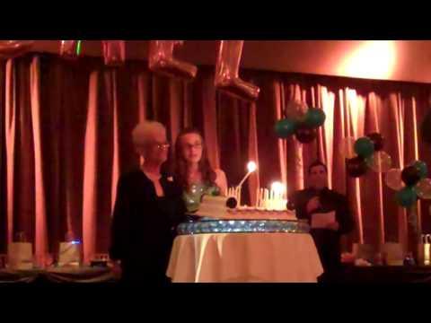 Rachels Bat Mitzvah Candle Lighting Part1