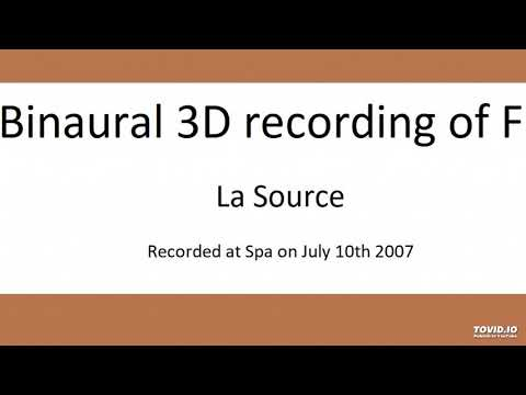 Formula One Sound (binaural 3D sound recording) - Spa La Source