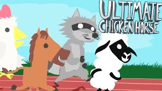 TROLLING YOUR FRIENDS - ULTIMATE CHICKEN HORSE (Level Editor Minigames) | JeromeASF