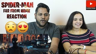 SPIDER-MAN Far From Home Teaser Trailer Reaction | Malaysian Indian Couple | Tom Holland