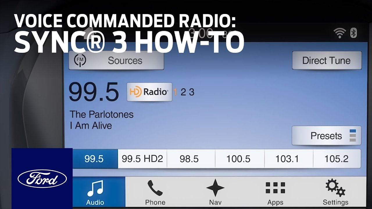 SYNC 3 Voice Commanded Radio | SYNC 3 How-To | Ford