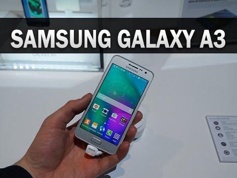 Samsung Galaxy A3, prise en main au CES 2015 - par Test-Mobile.fr