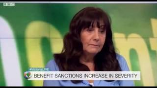 benefit Sanctions. Tory Heartless Bastard