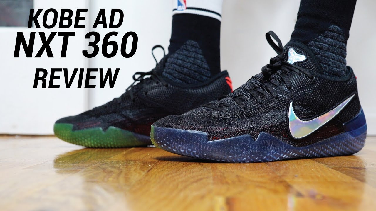 0937eb32905 KOBE AD NXT 360 INITIAL REVIEW - YouTube