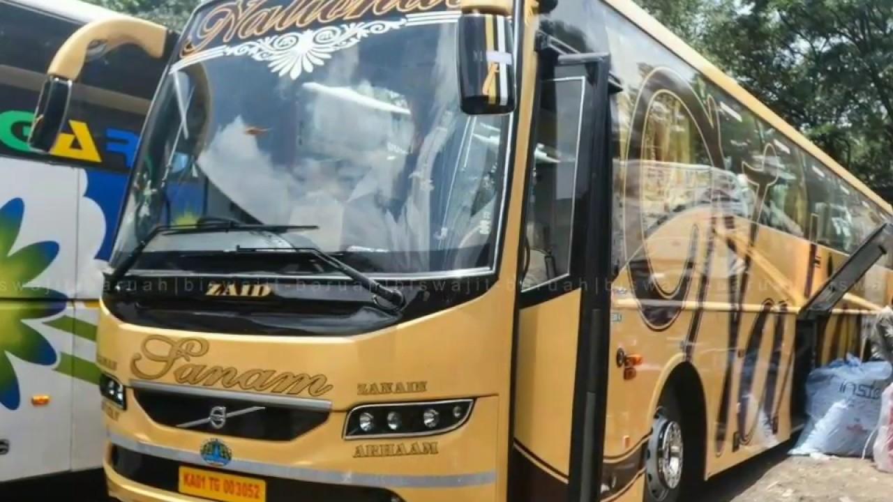 National Travels Sanam Volvo B11r I Shift Euro 04 Pic Credit Biswajit Svm Chaser