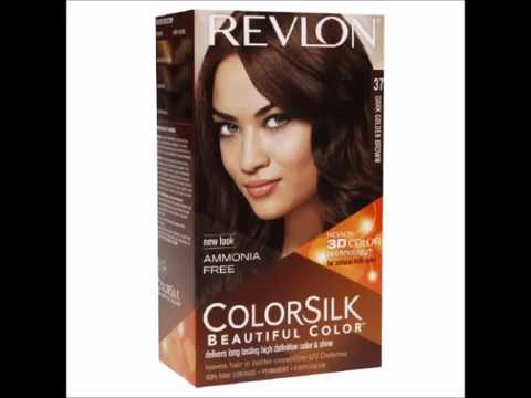 Revlon Colorsilk Beautiful Color Dark Golden Brown 37 1 Ea Youtube