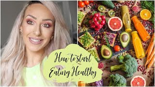 NUTRITION: HOW TO START EATING HEALTHY