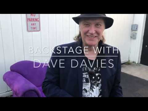 Backstage With Dave Davies
