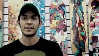 """Entrevista al artista """"curiot"""" y una breve patinada."""
