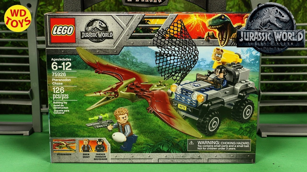 Lego Build Motion Stop New Fallen Chase Pteranodon World Speed Jurassic Kingdom 75926 Unboxing ZOkTPXiu