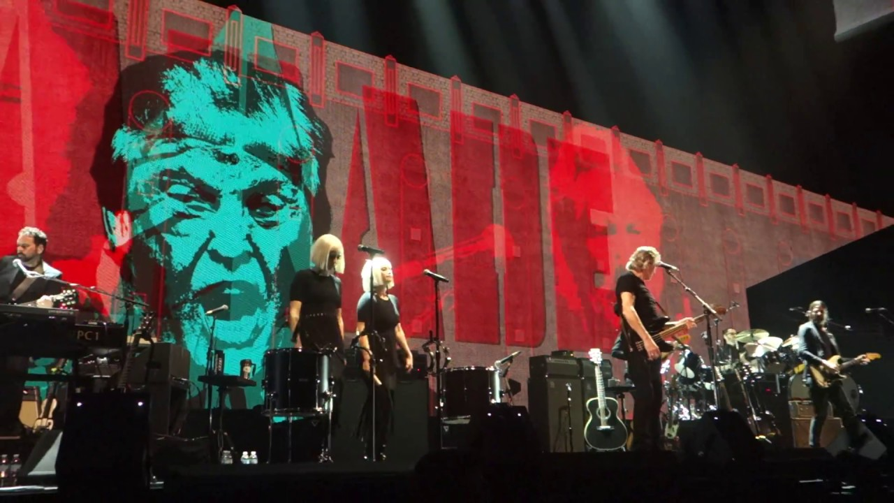 Image result for roger waters in concert