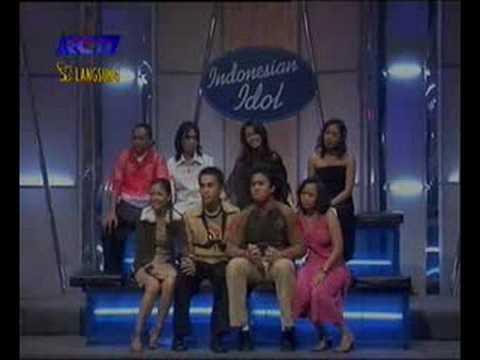 Winda Indonesian Idol 1 (Peringkat 1 group 2 workshop)